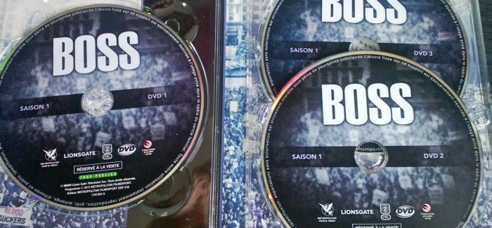 Test DVD Boss saison 1