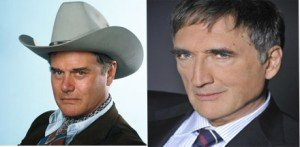 JR EWING (Dallas) CHARLES FREMONT (Plus belle la vie)