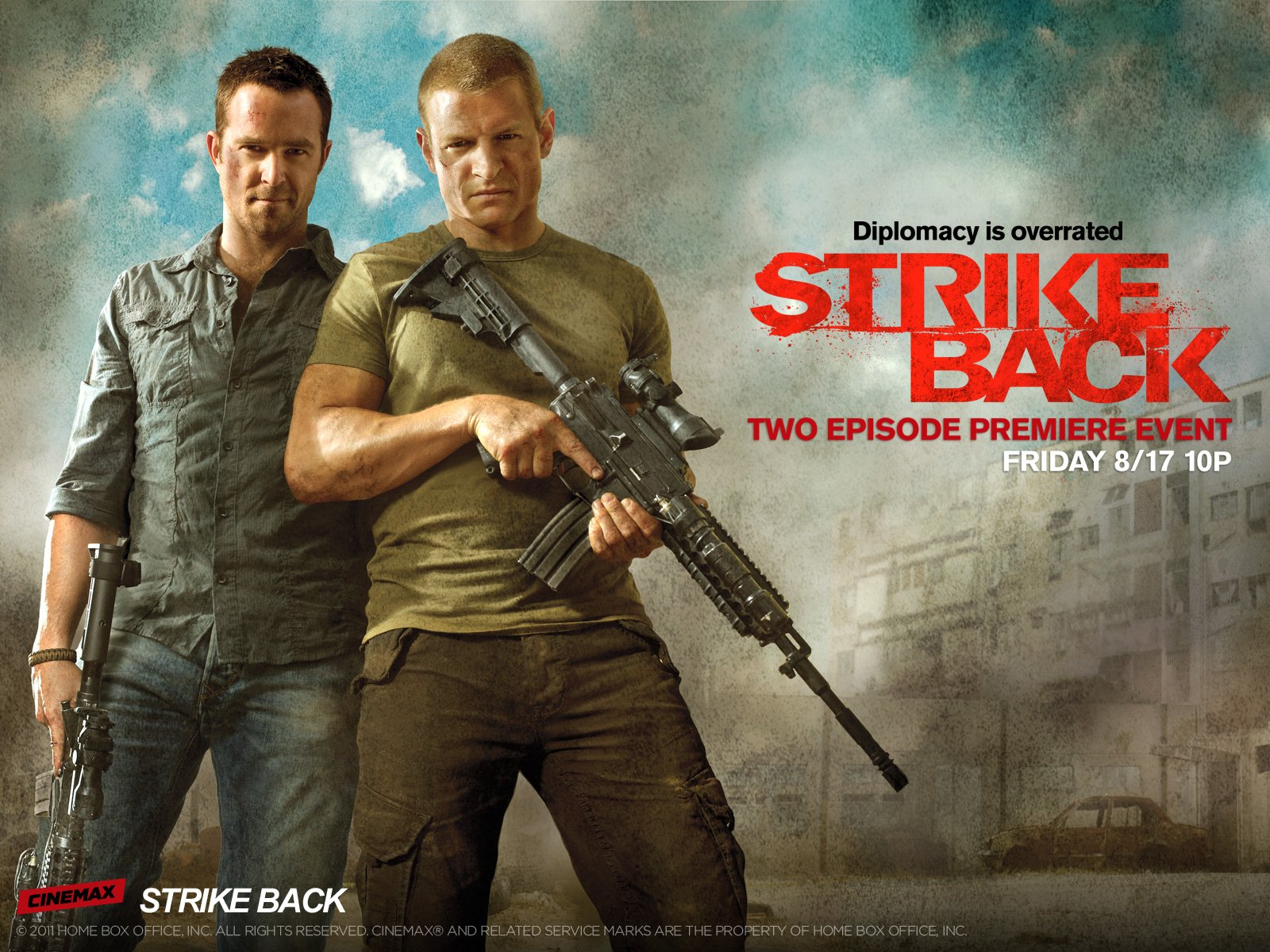 affiche Strike Back